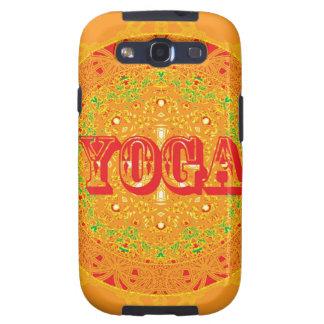 Yoga Mandala Design Samsung Galaxy SIII Case