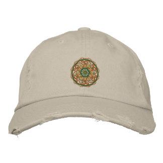 Yoga Mandala Embroidered Cap