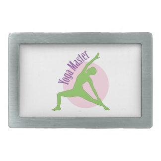 Yoga Master Belt Buckles