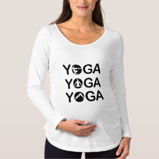Yoga Maternity T-Shirt