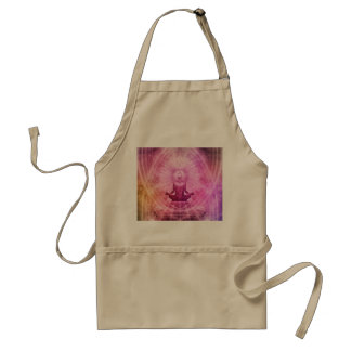 Yoga Mediation Adult Apron