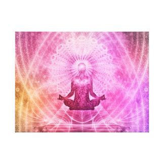 Yoga Mediation Canvas Print