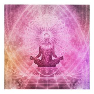 Yoga Mediation Panel Wall Art