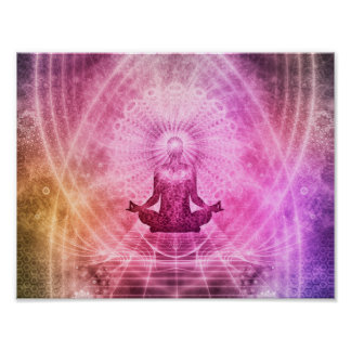 Yoga Mediation Poster