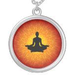 Yoga - meditación colgante redondo