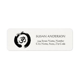 Yoga & Meditation Address Label