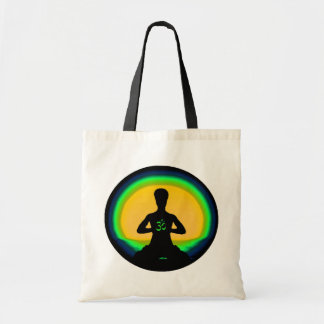 Yoga Meditation Canvas Bag