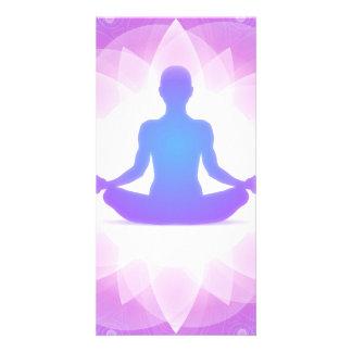 Yoga Meditation Card