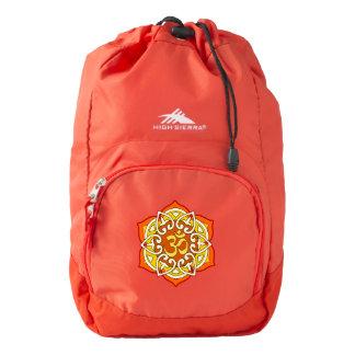 Yoga, meditation, Om mantra ... High Sierra Backpack