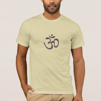 Yoga/Meditation-OM/Purple T-Shirt