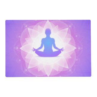 Yoga Meditation Placemat