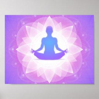 Yoga Meditation Poster