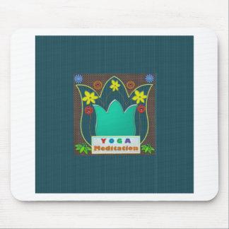 YOGA Meditation Script ART Mandala ShowCase GIFTS Mousepads