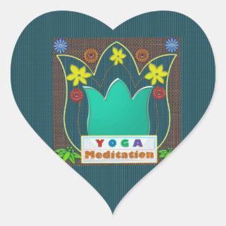 YOGA Meditation Script ART Mandala ShowCase GIFTS Sticker