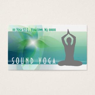 Yoga, Meditation, Spiritual Business Card