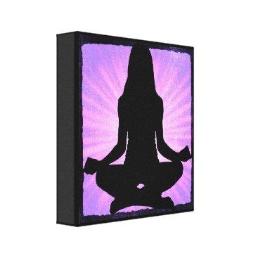 Art Themed Yoga Meditation Zen Canvas Wall Art