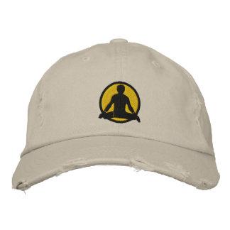 Yoga Men's Embroidered Cap
