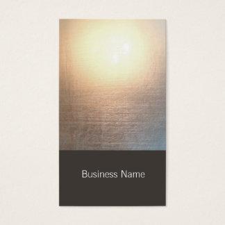 Yoga moderna del resplandor del zen y artes tarjetas de visita