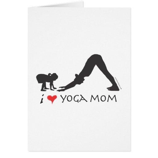 Yoga Mom Card