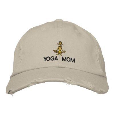 Yoga Mom Embroidered Embroidered Baseball Cap