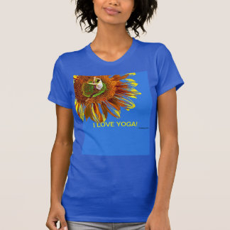 YOGA MOMS MOTHERS DAY SPECIAL SUNFLOWERS T SHIRTS