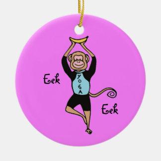 Yoga Monkey Ornament