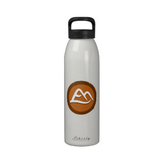 Yoga 'Mountains' Bottleworks Reusable Water Bottle