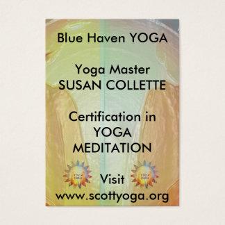 Yoga n Reiki Business Promotion Business Card