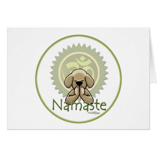 Yoga - Namaste Card