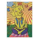 Yoga Namaste del perro Felicitación