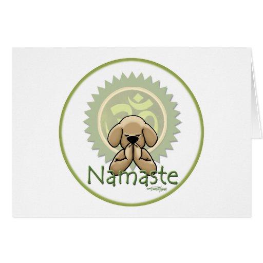 Yoga - Namaste Felicitacion