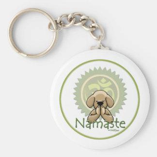 Yoga - Namaste Keychain