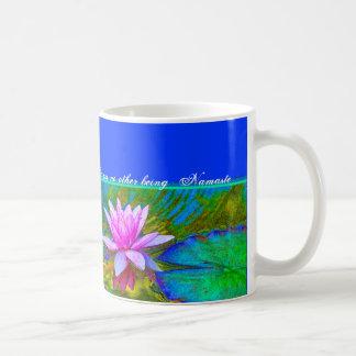 Yoga Namaste - Lotus Blossom Buddha Quote Mugs
