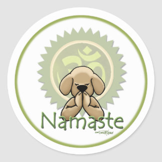 Yoga - Namaste Etiqueta
