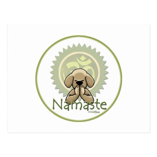 Yoga - Namaste Postcard