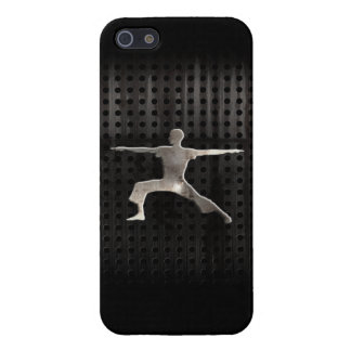Yoga; Negro fresco iPhone 5 Fundas