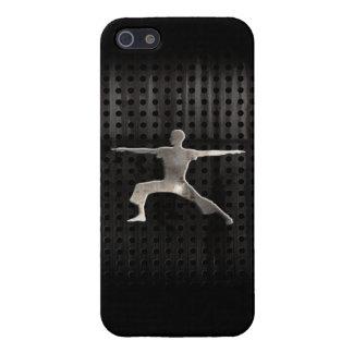 Yoga; Negro fresco iPhone 5 Fundas