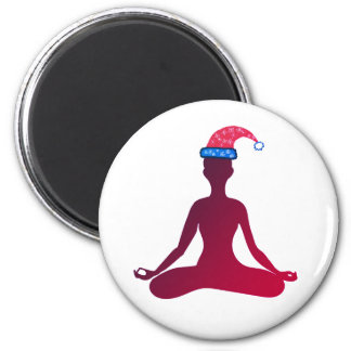 Yoga New Year Magnet