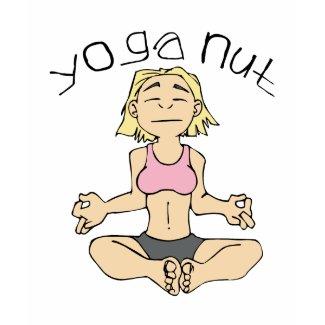 Yoga Nut t-shirt
