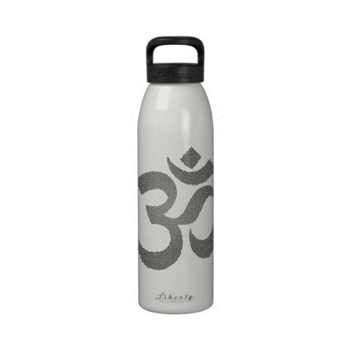 Yoga - Om Drinking Bottle