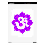 Yoga OM en el rosa púrpura de Lotus Skins Para eliPad 2
