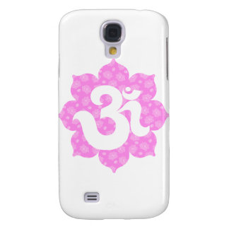 Yoga Om in Lotus baby pink Samsung Galaxy S4 Covers