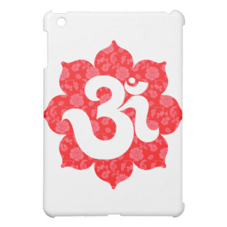 Yoga Om in Lotus Red Cover For The iPad Mini