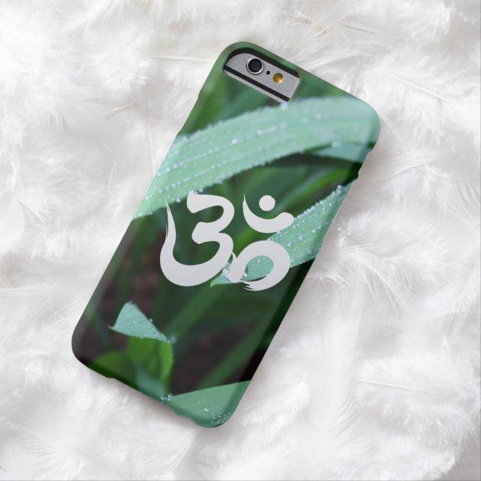 Yoga Om Symbol Zen Green iPhone 6 Case