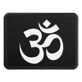 Yoga Om Trailer Hitch Covers