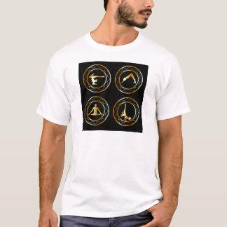 Yoga or gymnast silhouette T-Shirt