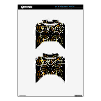 Yoga or gymnast silhouette xbox 360 controller decal