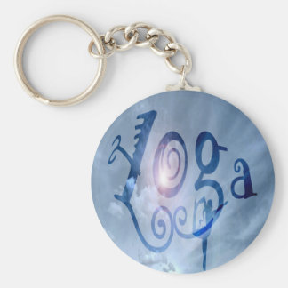 Yoga Outdoor Clouds Key Chains