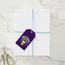 yoga owl gift tags
