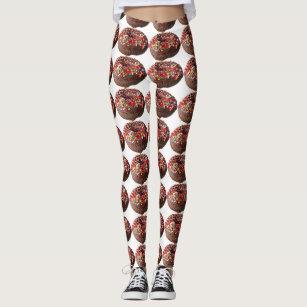 800171ebb5d58 Yoga Pants Sprinkle Donut Leggings
